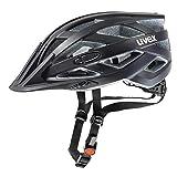 Uvex Erwachsene I-VO CC Fahrradhelm, black mat,...