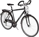 Ultrasport Herren Fahrrad Trekking Bike, schwarz,...