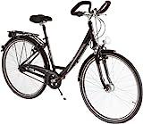 Ultrasport Damen Aluminium City-Fahrrad, 7 Gang,...