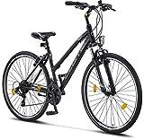 Licorne Bike Life-L-V (Schwarz/Grau) 28 Zoll...