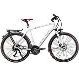 Univega Herren Geo 4.0 Fahrrad, White, 55