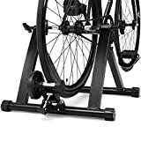 COSTWAY Rollentrainer aus Stahl, Cycletrainer...